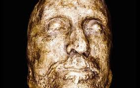 посмртна маска Оливера Кромвела