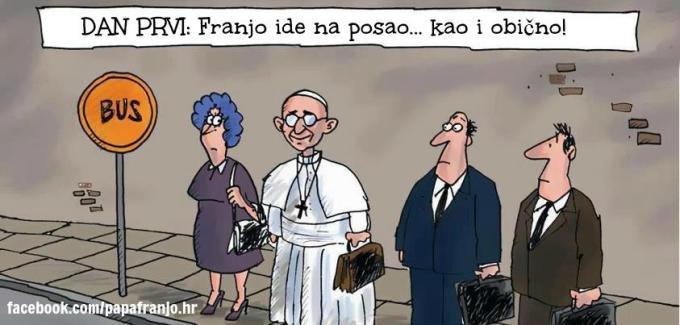 црквени медији и симпатичне карикатуре