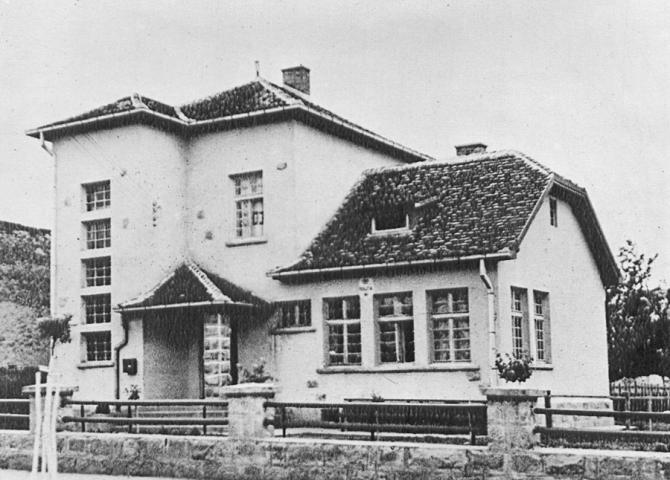 Зграда поште на Убу
