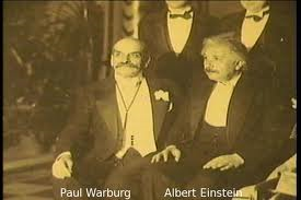 Paul Warburg Albert Einstein